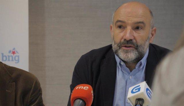 El diputado del BNG en el Congreso, Néstor Rego.