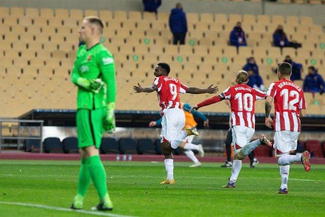 Williams, gol del Athletic Club para ganar la Supercopa