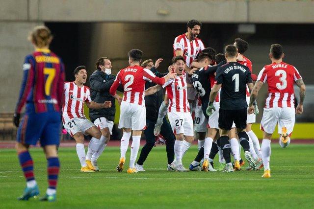 Barça - Athletic Club, Supercopa de España