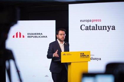 """Aragonès defensa la cobertura legal d'ajornar el 14-F i demana """"responsabilitat"""" als partits"""