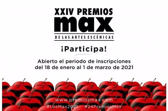 Los XXIV Premios Max de las Artes Escénicas abren la fase de inscripción y premian la producción con una nueva categoría