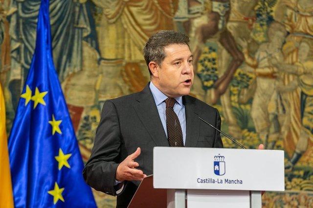 Foto de archivo del presidente de C-LM, Emiliano García-Page