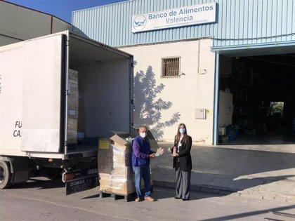 Mercadona donó más de 17.000 toneladas de alimentos en 2020 a entidades sociales, un 84% más