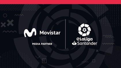 Movistar, colaborador en medios por segundo año seguido de la eLaLiga Santander