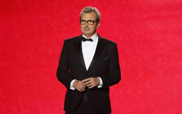 El presidente de la Academia de Cine,Mariano Barroso,