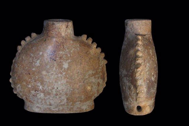 Recipientes para sustancias medicinales utilizados por los mayas