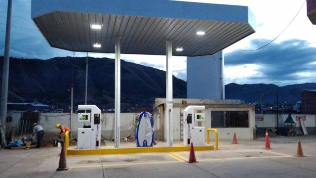HAM y Limagas construyen las primeras gasineras de GNL en Perú