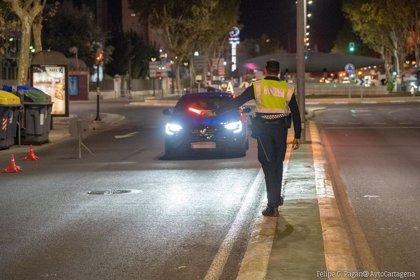 La Policía Local de Cartagena interpone 144 denuncias por incumplir las normas para prevenir los contagios
