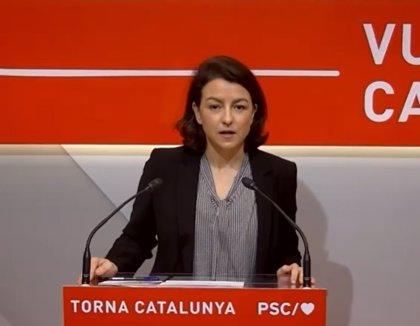 El PSC anuncia la suspensión de su campaña electoral y urge al resto de partidos a hacerlo