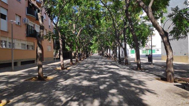 Calles del barrio de Son Gotleu, en Palma.