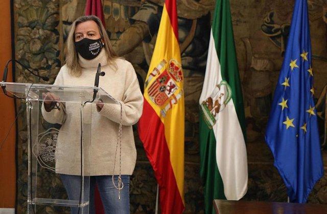 La primera teniente de alcalde delegada de Turismo y Desarrollo Económico del Ayuntamiento de Córdoba, Isabel Albás.