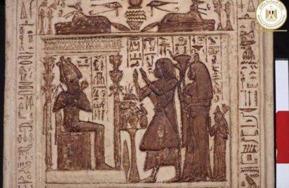 Excavado en Egipto un templo funerario de hace 4.300 años