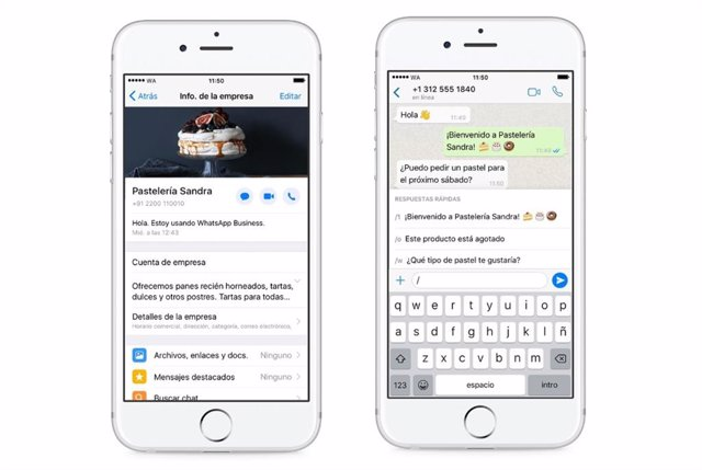 WhatsApp Business para iOS
