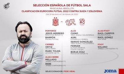 El ala de Movistar Inter Borja, principal novedad en una convocatoria sin Sergio Lozano