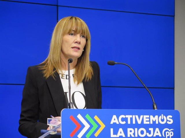 La senadora del PP Ana Lourdes González