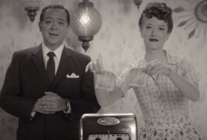 Bruja Escarlata y Visión: ¿Son los padres de Wanda la pareja de los anuncios de Wandavision?