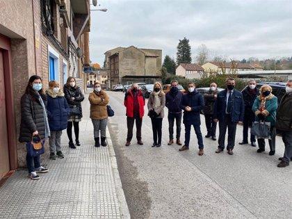 Coto (Vox) pide actuaciones urgents para la calle del Rayo en La Tenderina