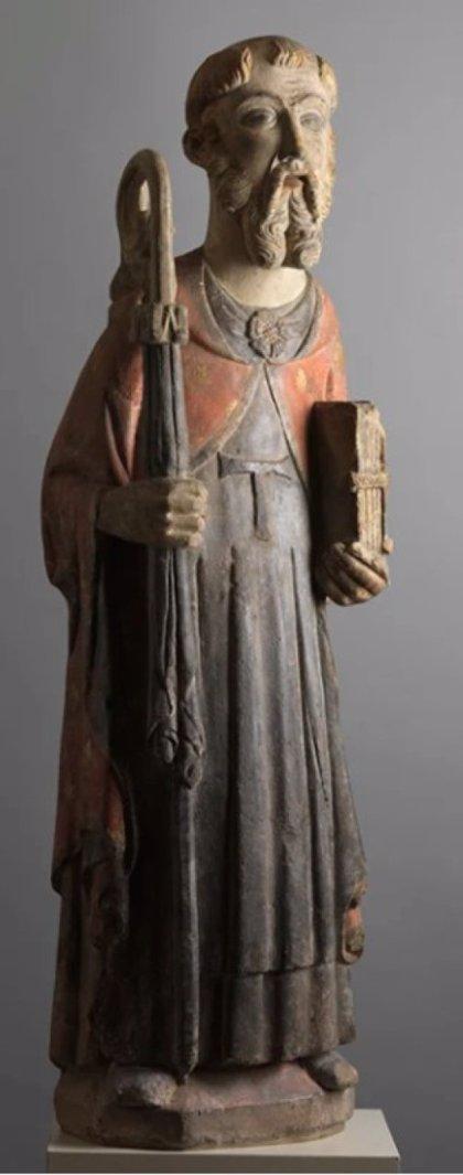 La Generalitat compra una escultura gótica de San Antonio y la deposita en el Museu de Lleida