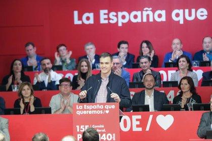 El PSOE celebrará en Barcelona el Comité Federal para convocar su 40º Congreso en octubre y los regionales antes de 2022