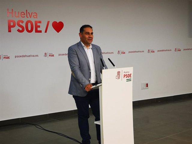 El diputado nacional por el PSOE de Huelva José Luis Ramos.