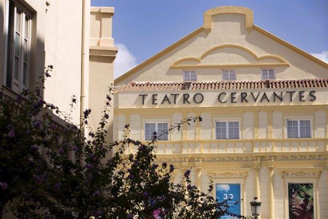 Fachada del Teatro Cervantes