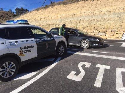La Guardia Civil tramitará más de 350 denuncias por incumplimiento del confinamiento perimetral de Teruel