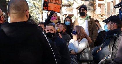 La Delegación del Gobierno sancionará a siete personas por la manifestación de la hostelería del 12 de enero