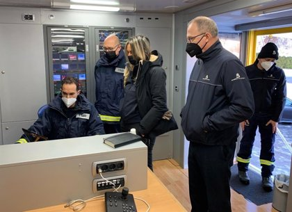 """""""La máxima del rescate tiene que ser la precaución y la seguridad de los equipos"""", dice Camblor del operativo de Aller"""