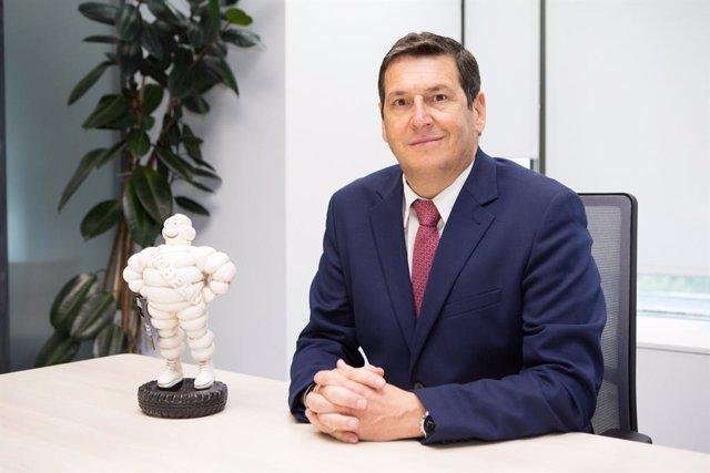 Antonio Crespo, director comercial de Michelin en España y Portugal