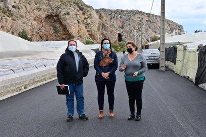 La Junta concluye en Granada las obras de acondicionamiento del camino rural del Puntal en Carchuna-Calahonda