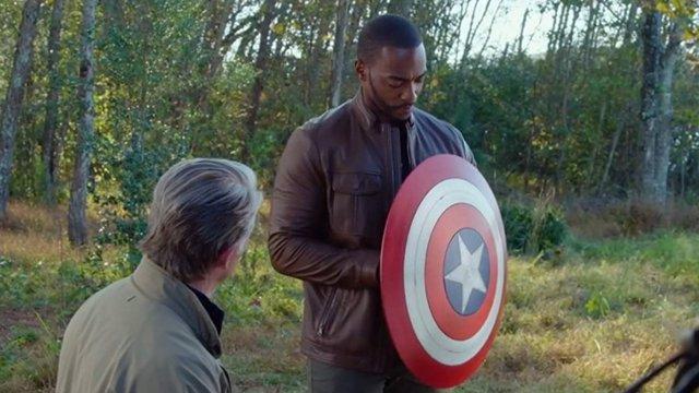 ¿Primera Iimagen Del Nuevo Capitán América Del Universo Marvel?