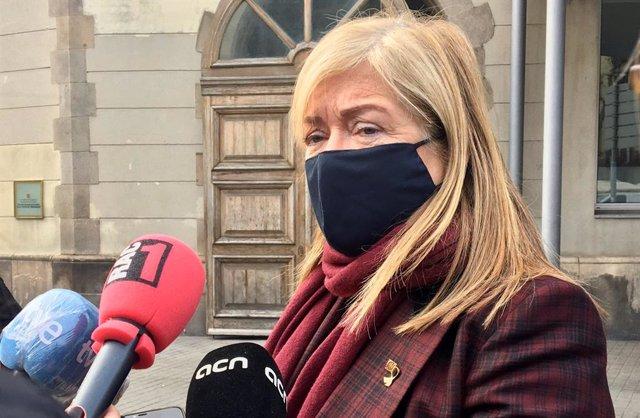 La consellera de Cultura de la Generalitat de Catalunya, Àngels Ponsa