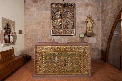Restaurado el retablo barroco de Sant Ramon del Castillo de Cardona (Barcelona)