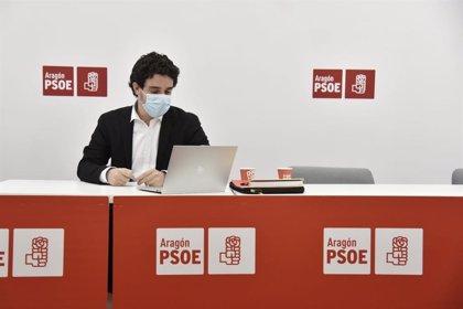 """Villagrasa (PSOE) elogia el trabajo """"prudente y responsable"""" de los ediles aragoneses ante el temporal 'Filemona'"""