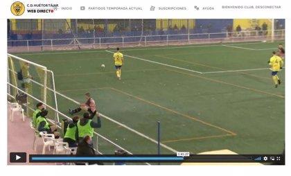 """El CD Huétor Tájar (Granada) responde al PP que los partidos de fútbol no los """"organiza"""" el alcalde"""