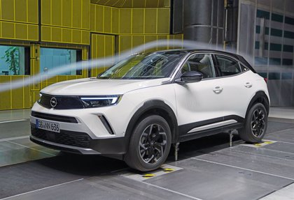 El nuevo Opel Mokka reduce su coeficiente aerodinámico al 0,32