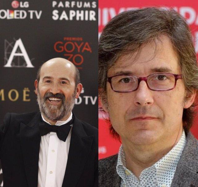 El actor riojano Javier Cámara y el guionista Bernardo Sánchez, nominados a los Goya