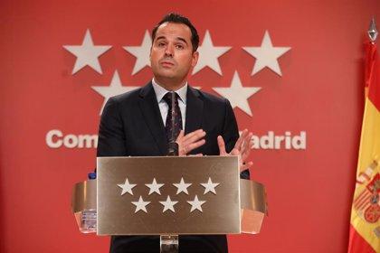 """Aguado asegura que """"se ha demostrado"""" que había """"políticos de PP y PSOE"""" con trato de favor en universidades de Madrid"""