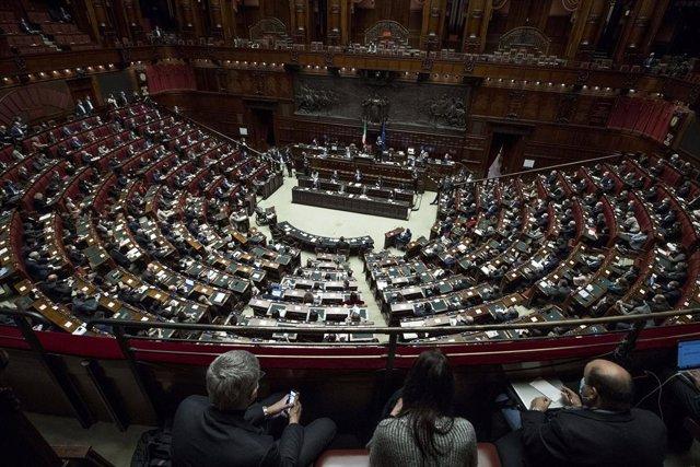 Imagen de archvio de la Cámara de Diputados de Italia.