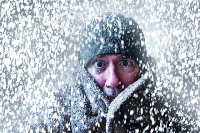 Hipotermia, frio, congelación.