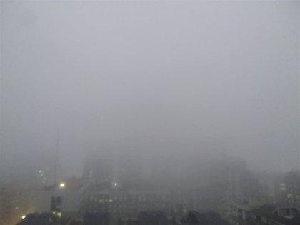 El interior de Valencia y Alicante amanece con bancos de niebla y algunos municipios alcanzarán este martes los 18ºC