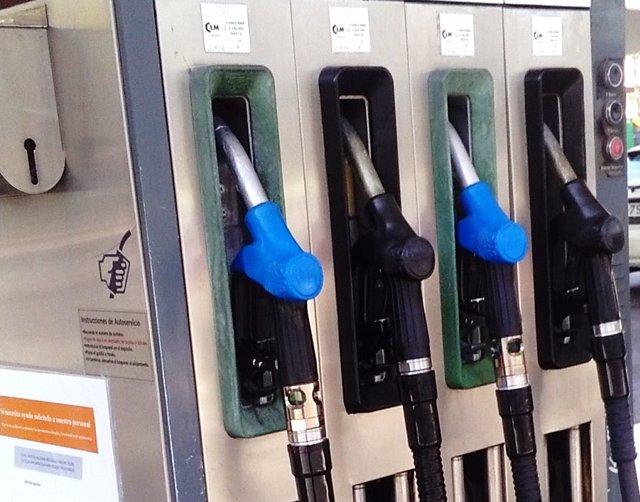 Imagen de recurso de una gasolinera.