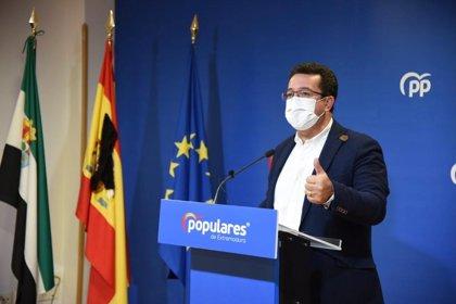 El PP pedirá convocar la Comisión del Pacto Antitransfuguismo por la moción de censura en Jerez de los Caballeros