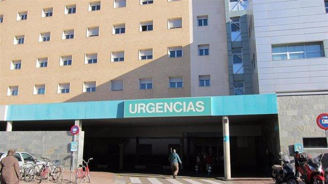 Servicio de Urgencias del Hospital Miguel Servet de Zaragoza.