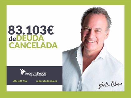 COMUNICADO: Repara tu Deuda Abogados cancela 83.103 € en Mallorca (Islas Baleares) con la Ley de Segunda Oportunidad