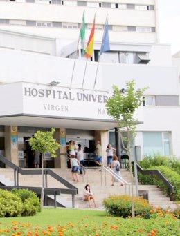 Imagen de archivo de la fachada principal del Hospital Macarena
