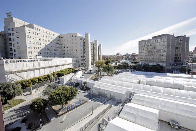 Hospital de campaña de Alicante