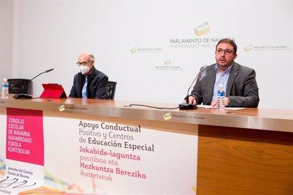 El Parlamento de Navarra acogerá unas jornadas sobre apoyo conductual positivo y centros de educación especial