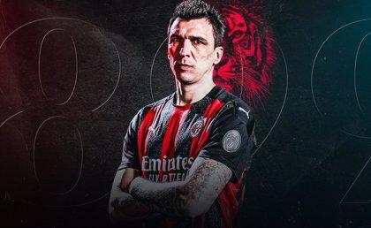 Mario Mandzukic refuerza la candidatura del AC Milan al 'Scudetto'