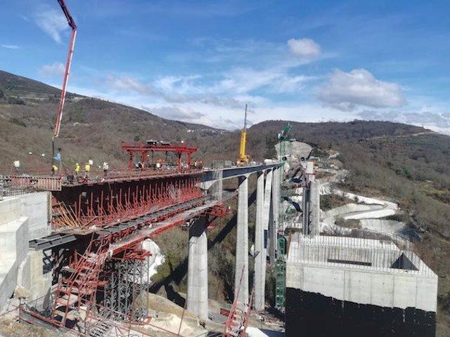Obras de construcción en España